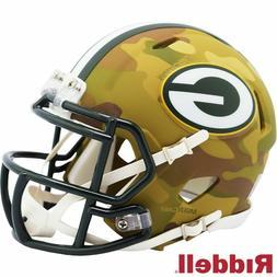 Green Bay Packers Camo Alternate Speed Mini Helmet Replica R