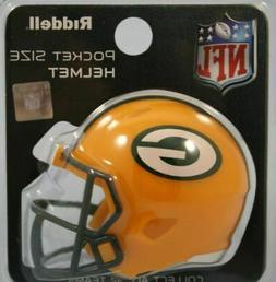 Green Bay Packers NFL Riddell Speed Pocket PRO Micro/Pocket-
