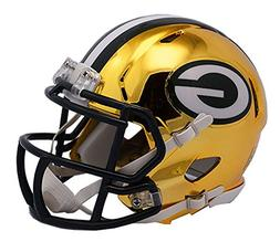 Green Bay Packers Riddell Speed Mini Helmet - 2018 Chrome Al