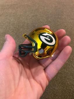 Green Bay Packers Riddell Speed Mini Helmet NFL Chrome Alter
