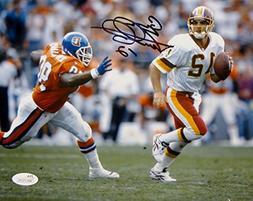 Gus Frerotte Autographed Redskins 8x10 Against Denver Photo-
