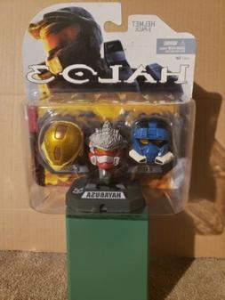 McFarlane Toys Halo 3 Mini Helmet 3-Pack, EOD-Blue, HAYABUSA