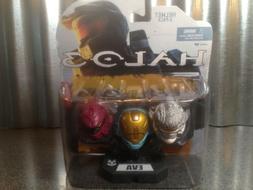 McFarlane Toys Halo 3 Mini Helmet 3 Pack - HAYABUSA, EVA, RO