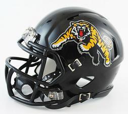 HAMILTON TIGER CATS CFL Riddell SPEED Mini Football Helmet 3