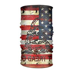 Headband Balaclava Bandanas Vintage American Flag Versatile