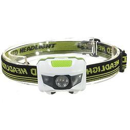 Headlamp camping gear 1200 Lumen R3+2LED 4 Models Super Brig