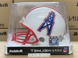 HOUSTON OILERS  Riddell VSR4 Mini Helmet
