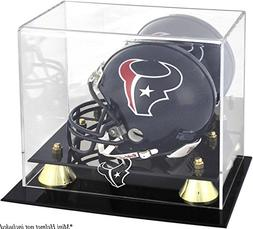 Mounted Memories Houston Texans Golden Classic Mini Helmet D