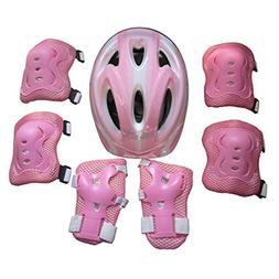 Choson Vic 7Pcs Ice Skating Protective Gear Bicycle Dirt Bik