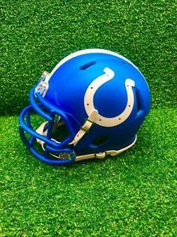 Indianapolis Colts Riddell Speed CUSTOM BLAZE Mini Football