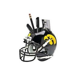 iowa hawkeyes black ncaa football mini helmet