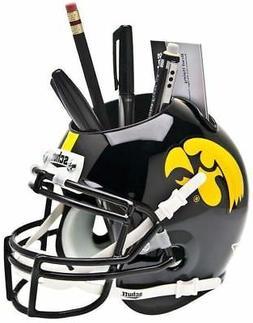 IOWA HAWKEYES NCAA Schutt Mini Football Helmet DESK CADDY