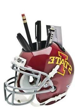 Iowa State Cyclones Licensed NCAA Mini Helmet Desk Caddy Sto