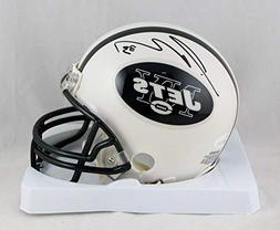 Jamal Adams Autographed NY Jets Mini Helmet-JSA Witness Auth