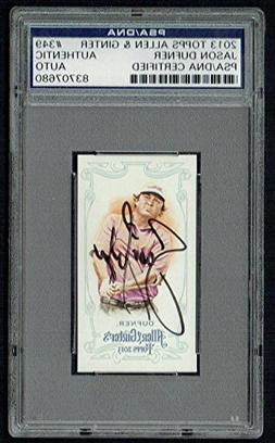 Jason Dufner signed autograph auto 2013 Topps Allen & Ginter
