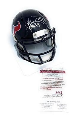 JJ Watt Houston Texans Signed Autograph Speed Mini Helmet Wa