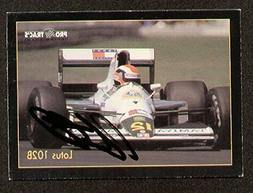 Johnny Herbert signed autographed F1 Pro Trac's Card