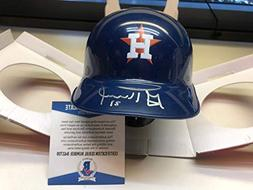 Jose Altuve Autographed Signed Houston Astros Mini Helmet Wi