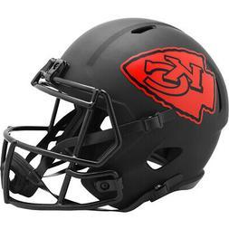 Kansas City Chiefs Full Size Eclipse Speed Replica Helmet Ne