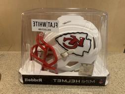 Kansas City Chiefs NFL Riddell Flat White Matte Revolution S