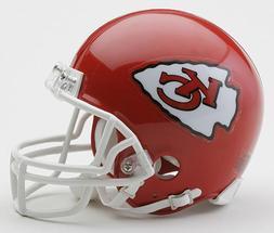 KANSAS CITY CHIEFS RIDDELL NFL FOOTBALL MINI HELMET NEW IN R
