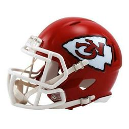 Kansas City Chiefs NFL Speed Mini Football Helmet