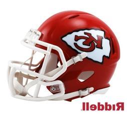 Kansas City Chiefs Riddell Speed Mini Football Helmet - New