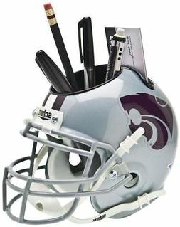 KANSAS STATE WILDCATS NCAA Schutt Mini Football Helmet DESK