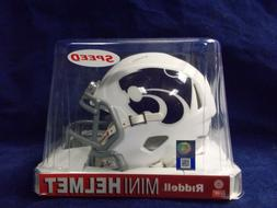 Kansas State Wildcats WHITE Riddell NCAA College Football Sp