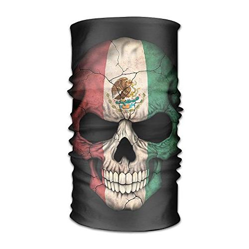 1 seamless scarf mexican skull