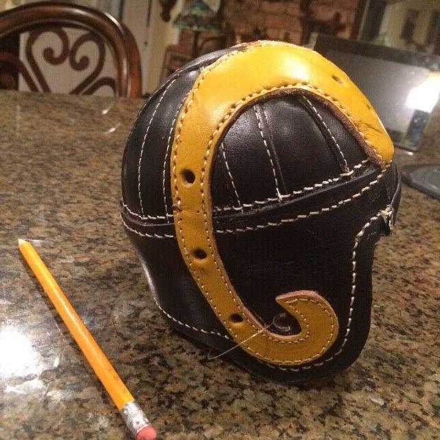 1940 LA Mini Historic Leather Football Helmet