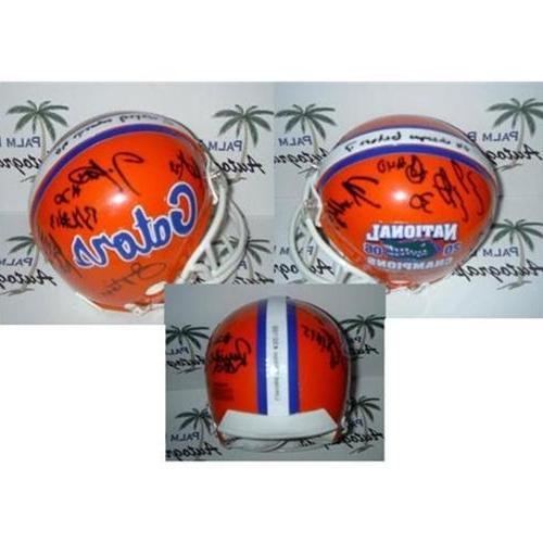 2006 Florida Autographed Mini Helmet LE100-12 Signatures