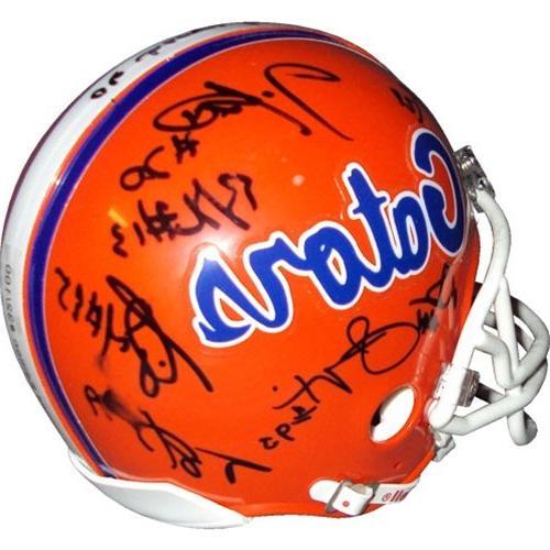 Autographed Helmet LE100-12 Signatures