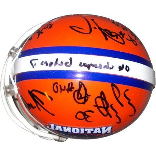 2006 Florida Gators Defense Autographed Mini Signatures