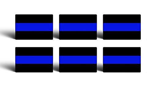 6 thin blue line police
