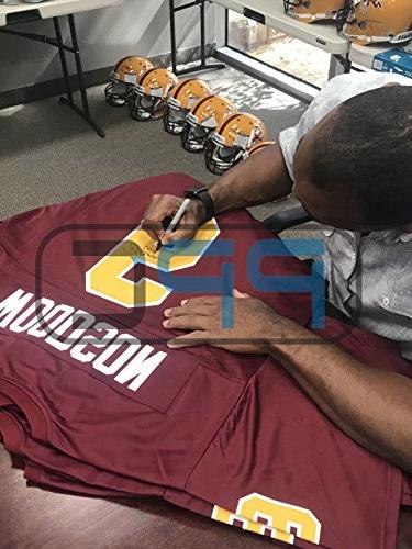 Asu Woodson The Certified Autographed Helmet Witnessed