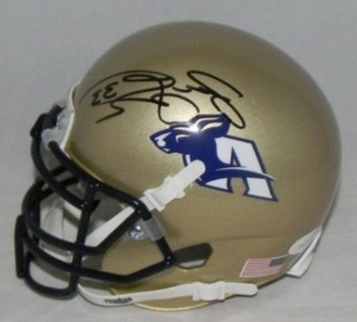 Autographed Jason Taylor Signed Akron Zips Mini Helmet - JSA