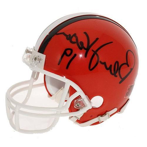 Bernie Kosar Autographed Cleveland Browns Replica Mini Helme