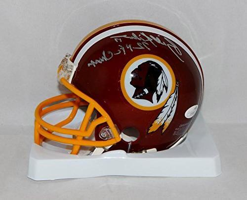 Billy Kilmer Autographed Washington Redskins Mini Helmet W/