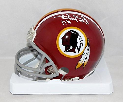 Billy Kilmer Signed Redskins 72-77 TB Mini Helmet W/ 70 Grea
