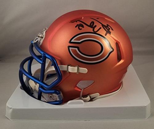Brian Urlacher Autographed Signed Mini Helmet Chicago Bears