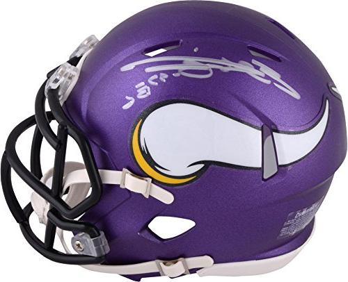 Everson Griffen Minnesota Vikings Autographed Riddell Speed