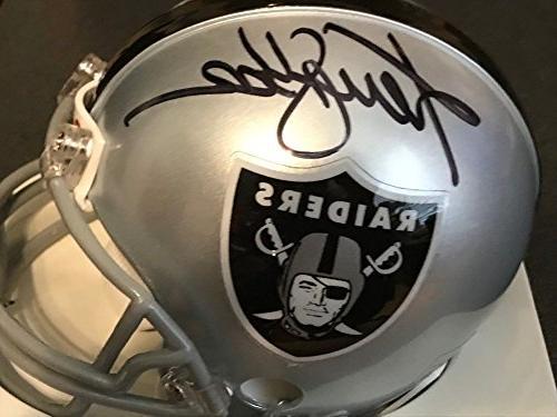 Ken Stabler Oakland Raiders Beckett Certifiedated Signed Aut