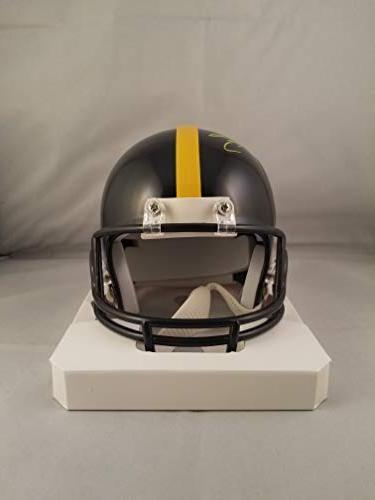 Michael Autographed Mini Pittsburgh Steelers JSA