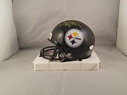 Michael Vick Autographed Signed Mini Helmet Pittsburgh Steel