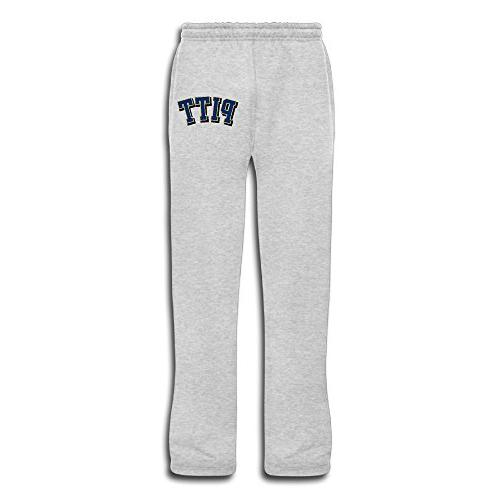 Pitt Brad Pitt Logo Man's Long Kids JoggersFashion