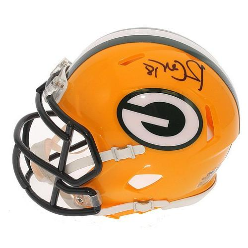 Randall Cobb Signed Green Bay Packers Speed Mini Helmet - JS