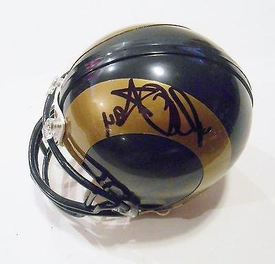Robert Quinn Signed St. Louis Rams Football Mini Helmet w/CO
