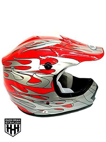 SmartDealsNow DOT Youth & Kids Helmet for Dirtbike ATV Motoc