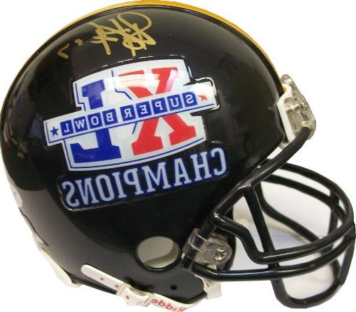 Troy Polamalu Pittsburgh Steelers Autographed Super Bowl XL
